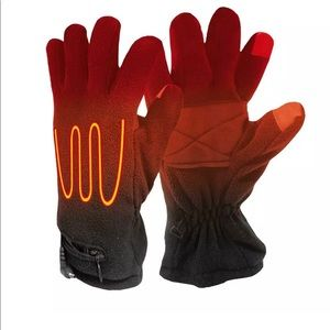 Accessories - Black Battery Heated Fleece Gloves One Size